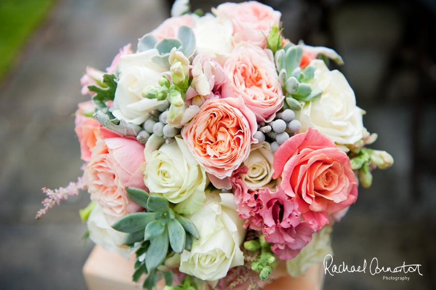 Professional colour photograph of wedding flowers by Sophie's Flowers by Rachael Connerton Photography