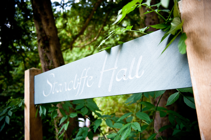wedding at Stancliffe Hall