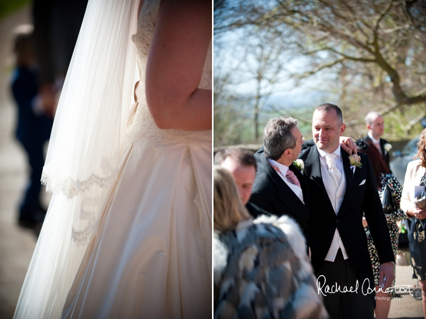 Professional colour photograph of Lauren and Michael's Belvoir Castle wedding by Rachael Connerton Photography