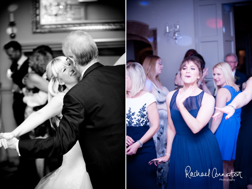 Professional colour photograph of Katie and Karl's wedding at Weston Hall by Rachael Connerton Photography