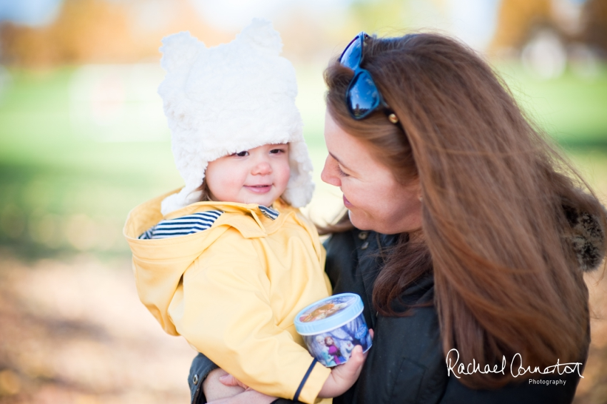 Professional colour photograph of Abbie and Brad's Autumn family lifestyle shoot in London by Rachael Connerton Photography