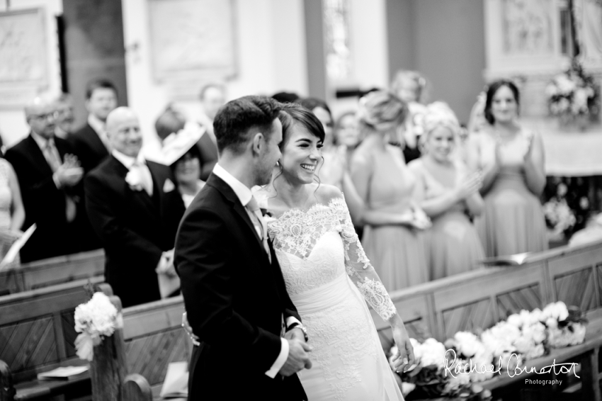 Professional colour photograph of Cathryn and David's summer wedding at Stubton Hall by Rachael Connerton Photography