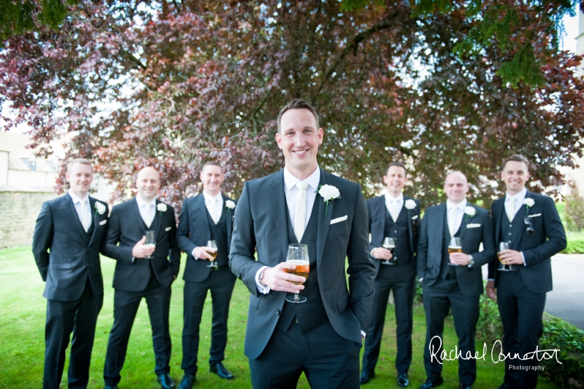 Professional colour photograph of Natalie and Simon's wedding at Ellenborough Park, Cheltenham by Rachael Connerton Photography