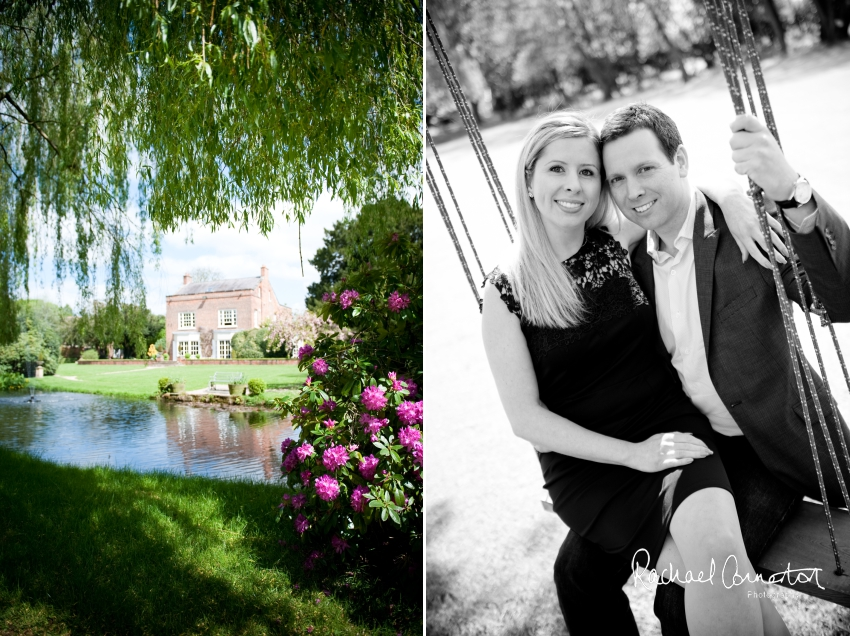 Professional colour photograph of Derbyshire engagement shoot styled shoot by Rachael Connerton Photography
